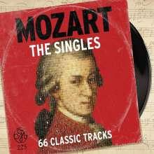 Wolfgang Amadeus Mozart (1756-1791): Mozart 225 – The Singles (66 Classic Tracks), 3 CDs