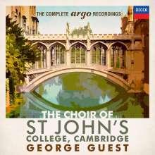 St.John's College Choir Cambridge - The Complete Argo Recordings, 42 CDs