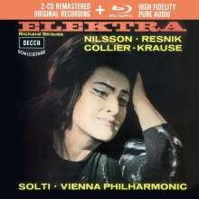 Richard Strauss (1864-1949): Elektra (Deluxe-Ausgabe mit Blu-ray Audio), 2 CDs