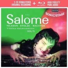 Richard Strauss (1864-1949): Salome (Deluxe-Ausgabe mit Blu-ray Audio), 2 CDs