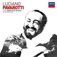 Luciano Pavarotti - The Complete Opera Recordings, 95 CDs