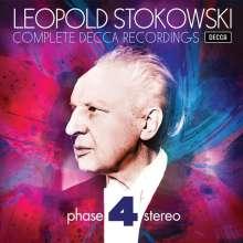 Leopold Stokowski - Complete Decca Recordings (Decca Phase 4 Stereo), 23 CDs