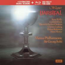 Richard Wagner (1813-1883): Parsifal (Deluxe-Ausgabe mit Blu-ray Audio), 4 CDs