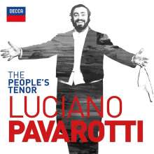 Luciano Pavarotti - The People's Tenor, 2 CDs