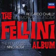 "Nino Rota (1911-1979): Filmmusiken ""The Fellini Album"", CD"