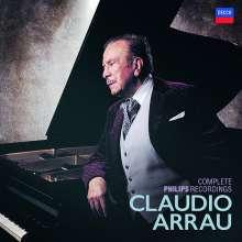 Claudio Arrau - The Complete Philips & American Decca Recordings, 80 CDs
