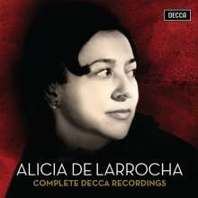 Alicia de Larrocha - The Complete Decca Recordings, 41 CDs
