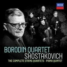 Dmitri Schostakowitsch (1906-1975): Streichquartette Nr.1-15, 7 CDs