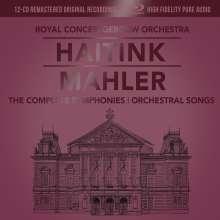 Gustav Mahler (1860-1911): Symphonien Nr.1-10 (mit Blu-ray Audio), 13 CDs