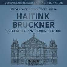 Anton Bruckner (1824-1896): Symphonien Nr.0-9 (mit Blu-ray Audio), 10 CDs