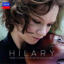 Anton Garcia Abril (geb. 1933): 6 Partiten für Violine solo (180g), LP