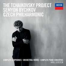 Peter Iljitsch Tschaikowsky (1840-1893): The Tschaikowsky Project, 7 CDs