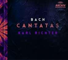 Johann Sebastian Bach (1685-1750): Karl Richter dirigiert Bach-Kantaten (Deluxe-Version auf 2 Blu-ray Audio im Hardcover-Booklet), 2 Blu-ray Audios