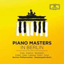 Piano Masters in Berlin - Ausgewählte Klavierkonzerte, 8 CDs