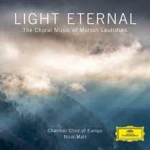 Morten Lauridsen (geb. 1943): Light Eternal (Geistliche Chorwerke), CD