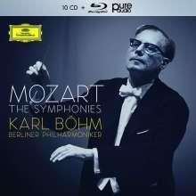 Wolfgang Amadeus Mozart (1756-1791): Symphonien Nr.1-41 (mit Blu-ray Audio), 10 CDs und 1 Blu-ray Audio