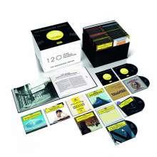 120 Jahre Deutsche Grammophon Gesellschaft -  The Anniversary Edition, 121 CDs
