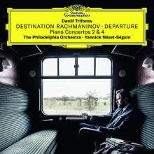 "Sergej Rachmaninoff (1873-1943): Klavierkonzerte Nr.2 & 4 ""Destination Rachmaninov - Departure"", CD"