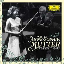 Anne-Sophie Mutter - The Early Years (mit Blu-ray Audio), 3 CDs und 1 Blu-ray Disc