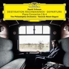 """Sergej Rachmaninoff (1873-1943): Klavierkonzerte Nr.2 & 4 """"Destination Rachmaninov - Departure"""" (180g), 2 LPs"""