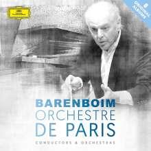Daniel Barenboim und das Orchestre de Paris, 8 CDs