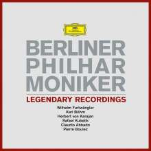 Berliner Philharmoniker - Legendary Recordings (180g), 6 LPs