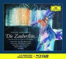 Wolfgang Amadeus Mozart (1756-1791): Die Zauberflöte (Deluxe-Ausgabe mit Blu-ray Audio), 2 CDs