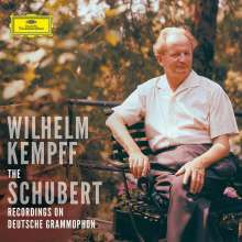 Franz Schubert (1797-1828): Wilhlem Kempff spielt Schubert - The Complete DG Schubert Recordings (mit Blu-ray Audio), 9 CDs