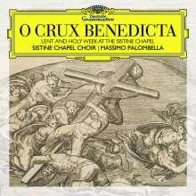 Cappella Sistina - O Crux benedicta (Lent and Holy Week at the Sistine Chapel), CD