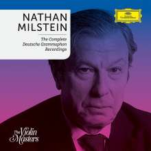 Nathan Milstein - The Complete Deutsche Grammophon Recordings, 5 CDs