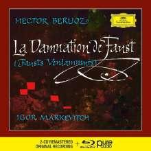 Hector Berlioz (1803-1869): La Damnation de Faust (Deluxe-Ausgabe mit Blu-ray Audio), 2 CDs und 1 Blu-ray Audio