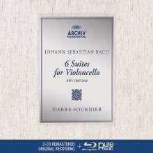 Johann Sebastian Bach (1685-1750): Cellosuiten BWV 1007-1012 (mit Blu-ray Audio), 2 CDs
