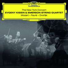 Evgeny Kissin & Emerson String Quartet - The New York Concert, 2 CDs