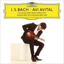 Johann Sebastian Bach (1685-1750): Konzerte für Mandoline & Streicher BWV 1041,1052,1056, 2 CDs