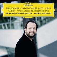 Anton Bruckner (1824-1896): Symphonien Nr.6 & 9, 2 CDs
