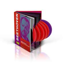 Ludwig van Beethoven (1770-1827): Symphonien Nr.1-9 (mit Blu-ray Audio), 6 CDs