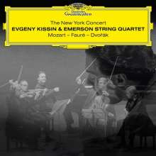 Evgeny Kissin & Emerson String Quartet - The New York Concert (180g), 2 LPs