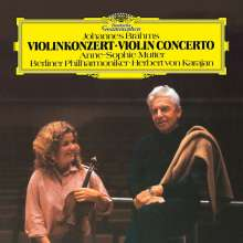 Johannes Brahms (1833-1897): Violinkonzert op.77 (180g), LP