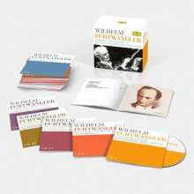 Wilhelm Furtwängler - Complete Recordings on Deutsche Grammophon and Decca, 35 CDs