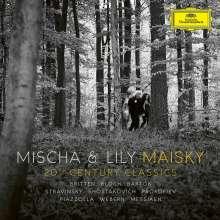 Mischa Maisky & Lily Maisky - 20th Century Classics, 2 CDs