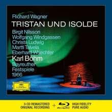 Richard Wagner (1813-1883): Tristan und Isolde (Deluxe-Ausgabe mit Blu-ray Audio), 4 CDs