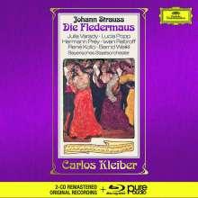 Johann Strauss II (1825-1899): Die Fledermaus (Deluxe-Ausgabe mit Blu-ray Audio), 3 CDs