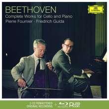 Ludwig van Beethoven (1770-1827): Cellosonaten Nr.1-5 (Deluxe-Ausgabe mit Blu-ray Audio), 2 CDs und 1 Blu-ray Audio