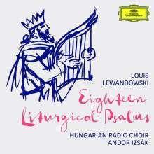 Louis Lewandowski (1821-1894): 18 Liturgische Psalmen, CD