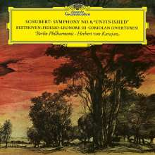 """Franz Schubert (1797-1828): Symphonie Nr.8 """"Unvollendete"""" (180g), LP"""