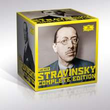 Igor Strawinsky (1882-1971): Igor Strawinsky - The New Complete Edition (DGG), 30 CDs