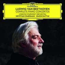 Ludwig van Beethoven (1770-1827): Klavierkonzerte Nr.1-5 (180g), 5 LPs