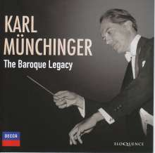 Karl Münchinger - The Baroque Legacy, 8 CDs