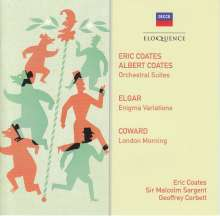 Eric Coates (1886-1957): Orchesterwerke, 2 CDs