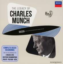 Charles Munch - Complete Decca Recordings, 14 CDs